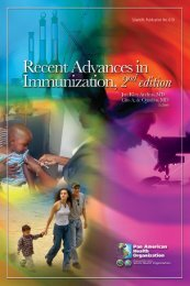 Recent Advances in Immunization 2nd Edition