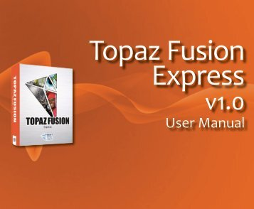 User Manual - Topaz Labs