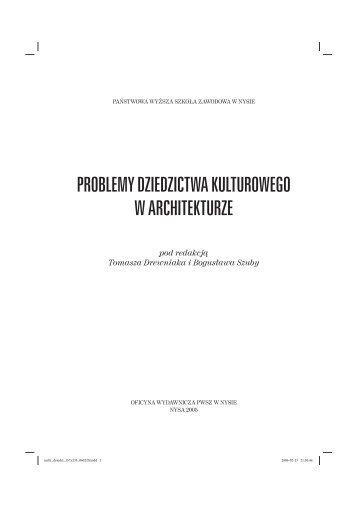 Tekst do pobrania.pdf - Państwowa Wyższa Szkoła Zawodowa w ...