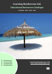 New Releases - Aug 2009 - Learningemall.com
