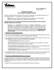 Access Application Permit - Highways and Public Works ...