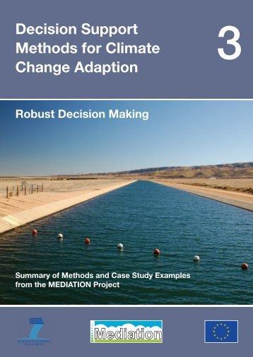 Robust Decision Making - weADAPT