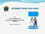 INTERNET SEHAT DAN AMAN - Media Center Kendedes