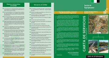 Carta de Servicios del Servicio de Expropiaciones