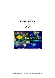 First Class 9.1 A-Ö - Buf - Kristianstad