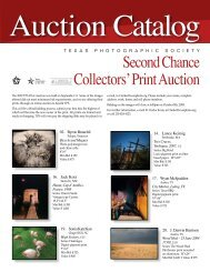 Second Chance Collectors' Print Auction - Texas Photographic Society