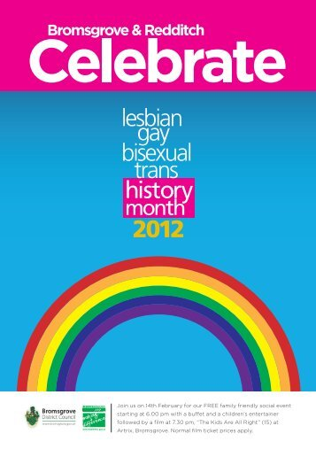 lesbian 2012 gay bisexual trans history - Bromsgrove District Council