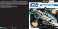 Star Wars Legacy Collection Millennium Falcon Instructions - Hasbro