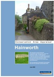 Hainworth Conservation Area Appraisal (.pdf format, 1093Kb)