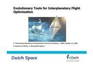 Evolutionary Tools for Interplanetary Flight Optimization