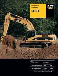 Specalog for Excavadora Hidráulica 330D L ... - Kelly Tractor
