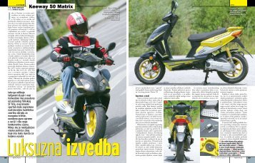 Keeway 50 Matrix - moto oprema