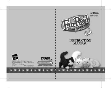 furreal friends baby butterscotch pony instruction manual