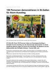 Tagblatt Online, 04 - Grüne Kanton St. Gallen