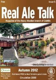 Autumn/Winter 2012 edition - Heavy Woollen CAMRA