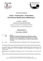 """""""Krisen – Kulturwandel – Kontinuitäten: Zum Ende der Bandkeramik ..."""