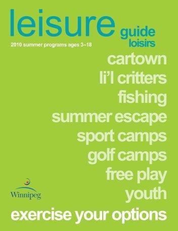 cartown li'l critters fishing summer escape sport camps golf camps ...