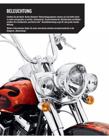 BELEUCHTUNG - Harley-Davidson Erfurt