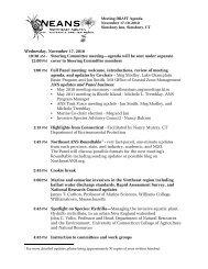 neanspanel.agenda.11.. - Northeast Aquatic Nuisance Species Panel