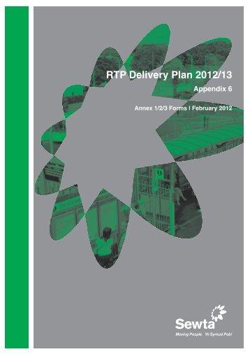 Appendix 6 RTP 2012/13 Capital and Revenue Programme ... - Sewta