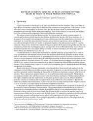BOUNDARY ELEMENTS MODELING OF PLAIN ... - ResearchGate