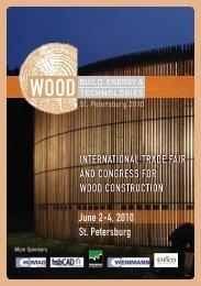Woodbuild flyer - architects24.com
