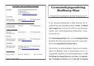 Info über GJR 2006 - Gemeinde Bedburg-Hau