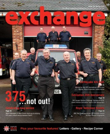 Exchange issue 18 - Spring 2010 7Mb - Hampshire Fire & Rescue ...