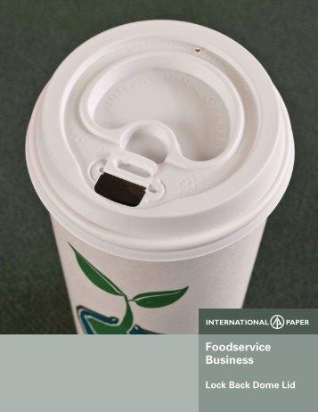 Lock-Back Dome Lid Brochure - International Paper