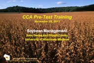 Soybean management and production, 11-30-2012 - Integrated Pest ...
