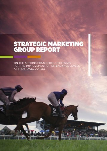 Strategic Marketing Group Report - Horse Racing Ireland