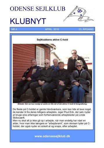 April 2010 - Odense Sejlklub