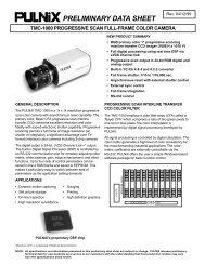 tmc-1000 preliminary data sheet - Image Labs International