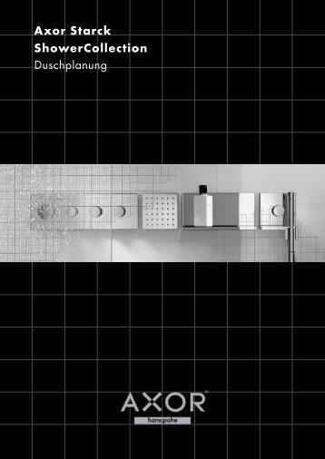 Axor Starck ShowerCollection Duschplanung - Hansgrohe