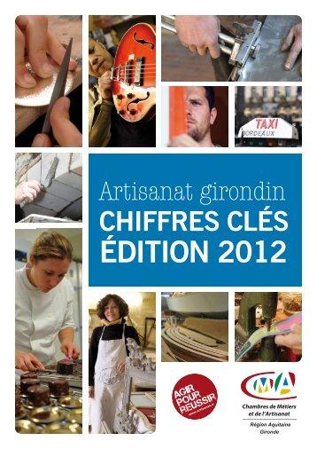 chiffres clés édition 2012 - Chambre de métiers et de l'artisanat