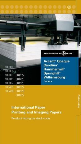 Product Listing - International Paper