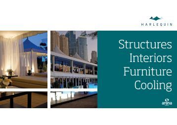 Structures Interiors Furniture Cooling - Harlequin