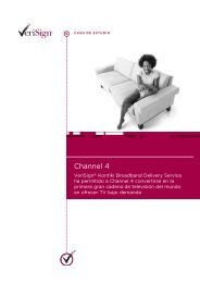 Channel 4 - VeriSign