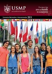 Convenios - Universidad de San Martín de Porres