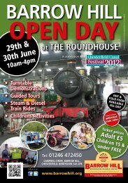 at THE ROUNDHOUSE - Barrow Hill