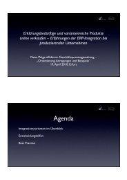 Vortrag Batix Software GmbH - Jörg Flügge - addonware