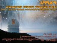 Imaging from MAuna Kea - ForOT Optical Turbulence Forecasts