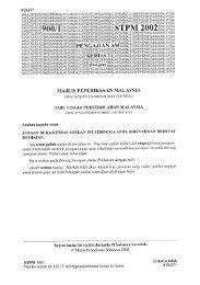 STPM 2002 - Jabatan Pelajaran Negeri Kedah