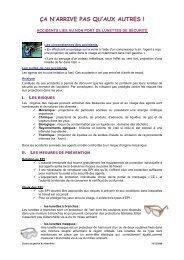 Lunettes de Sécurité : fiche ça n'arrive pas qu'aux autres - Cdg68.fr