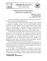 Epistemología de los estudios estéticos. Hacia un nuevo concepto ...