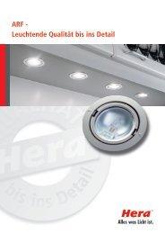 ARF - Leuchtende Qualität bis ins Detail - Hera