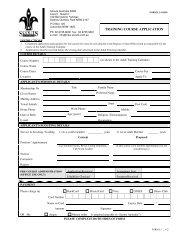 L1 Training Course Application.pdf - GWS Joeys