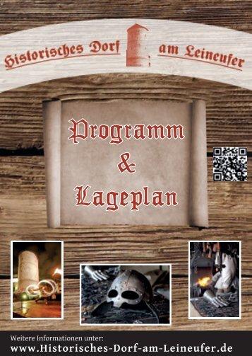 Programm & Lageplan