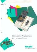 SMS Sprint dual programmer commercial brochure - Matthieu Benoit - Page 3
