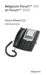 Forum IPhone 512 - Help and support - Belgacom